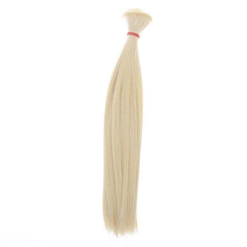 tte Puppenperücke Haarteil Für 1/3 1/4 1/6 Mädchen Puppen Diy Zubehör - Farbe 7 (Rote Haare Puppe Halloween)