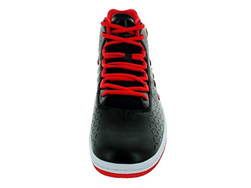 Nike Air Jordan High Sport Chaussures 705141 Noir / Noir / Unvrsty Rouge / Blanc Baskets