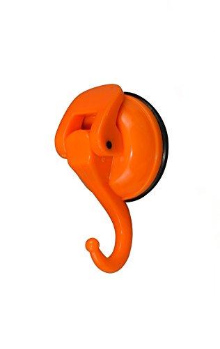 Togu tg-pb47-og ABS Vakuum dicken Gummi Saugnapf Haken, abnehmbare schwere Pflicht Saugnapf Haken, als Becherhalter, Schlüssel Haken, Coat/Hat/Handtasche Haken/Halterung, Handtuch/Badezimmer Veranstalter/Storage, orange, 1Stück (Gelb Abnehmbaren Tapeten)