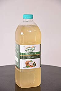 Vaagai Cold (Wood) Pressed Coconut Oil - 2 Ltrs