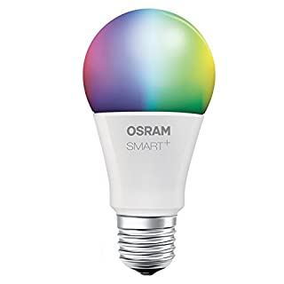 OSRAM Smart+ LED, ZigBee Lamp with E27 Socket, warm white to daylight, Color Change RGB, dimmable, Directly compatible with Echo Plus and Echo Show (2. Gen.), Compatible with Philips Hue Bridge (B074PZSW1Y) | Amazon Products