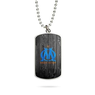 Collier Pendentif Necklace OM Olympique de Marseille Logo
