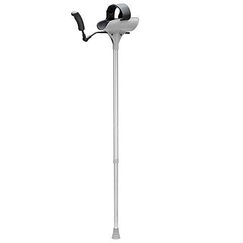 Ossenberg 10 Arthritis-Gehstütze in grau/schwarz bis 140 Kg