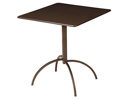 EMU Tavolo Segno quadrato pieghevole cm. 70 x70 Art. 852 colore Marrone d