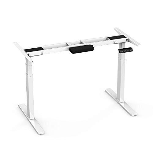 AIMEZO Elektro Stand Up Schreibtisch Rahmen w/Dual Motor Höhenverstellbar Stehend Schreibtisch...