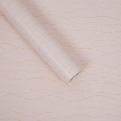 ZCHENG The Simple Self-Stick Wall Paper Glue Surface Wallpaper Pvc Wallpaper Wallpaper Waterproof Self-Adhesive 10 Meters One Roll Of Green On White And Dark Gray 10 M Gold Streaks, Large585231 -