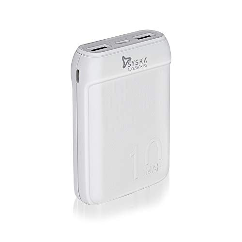 SYSKA P1016B Power Pocket 100 10000 mAh (White)