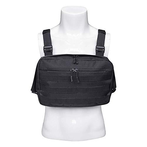 QEES ZSBX07 - Imbracatura universale per autoradio, gilet Molle, attrezzatura di sopravvivenza per uomo
