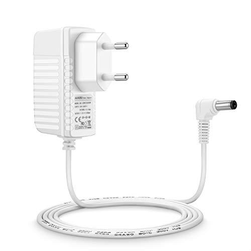 00 Netzteil (Aukru 6V Netzteil Babyphone Ladekabel Ladegerät für Philips Avent SCD501/00 DECT Babyphone Baby-Einheit (Weiß))