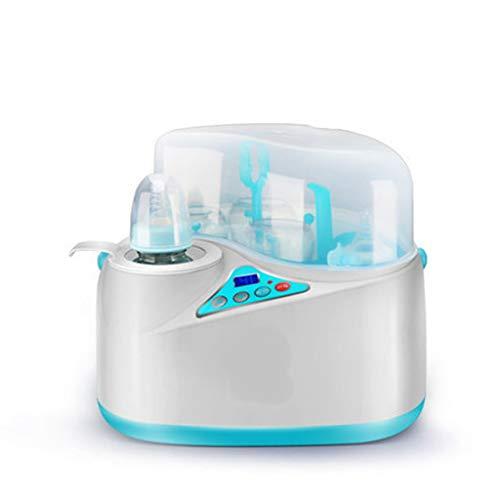 Esterilizadores Esterilizador a vapor eléctrico 2 en 1 y calentador de leche - Termostato automático