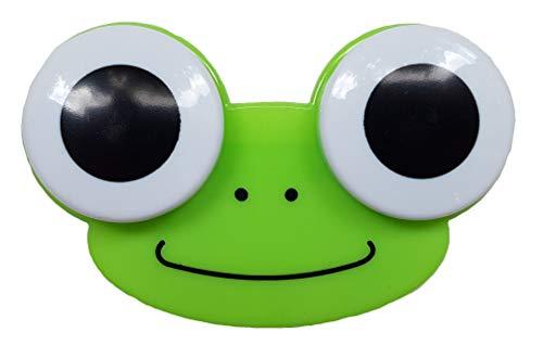 Portalentillas – Vaso para lentillas – Lentillas mensuales – Lentes blandas y duras – Animales (rana, osito, pollito y búho) – 5 colores – Recipiente para lentes de contacto