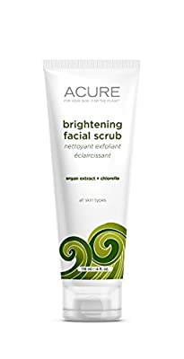 ACURE Brightening Facial Scrub from Better Planet Brands