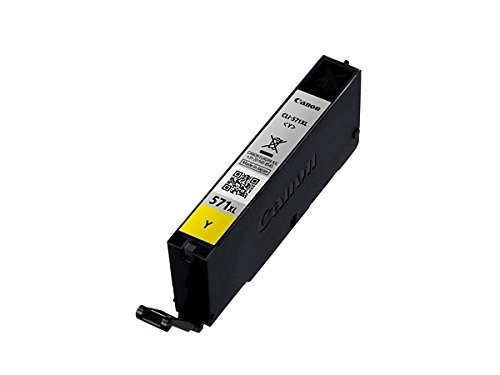 Original cartouche d'encre canon pGI 570 pGI570 pGI - 550 pour imprimantes canon pixma mG 7751–noir-capacité : 15 ml : (14) 1x XL Tintenpatrone - Yellow