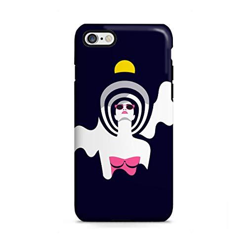 artboxONE Apple iPhone 6 Tough-Case Handyhülle Moonrise II von Sasha Lend - Tough-Case Handyhülle Smartphone Case