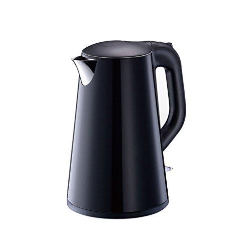 Bouilloire électrique 1,7 litres - Quick Boil 1500W - Protection Contre l'ébullition à Sec et automatiquePower Off - Acier Inoxydable Noir et brossé