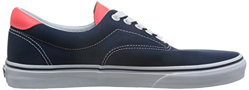 Herren Sneaker Vans Leather Era 59 Sneakers (neon leather) dress blue