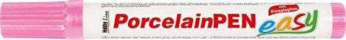 Kreul 16309 - PorcelainPen easy, mit formstabiler Pinselspitze, zum Bemalen und Verzieren von Glas,...