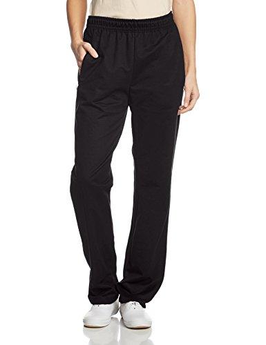 Trigema Damen Sporthose Freizeithose Sweat-Qualität Schwarz (Schwarz 008)