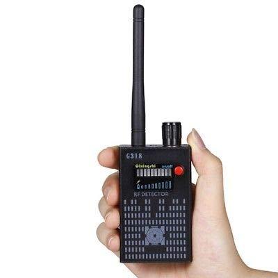 RF Funk-Signaldetektor, GSM GPS Tracker Device Finder Mini-Kamera RF-Detektor für Car Office Konferenzraum