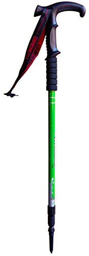Trekking Poles, Adjustable Retractable Anti-Shock Durable Aluminum Hiking Sticks for Outdoor Walking Trekking Climbing, (Random Color)