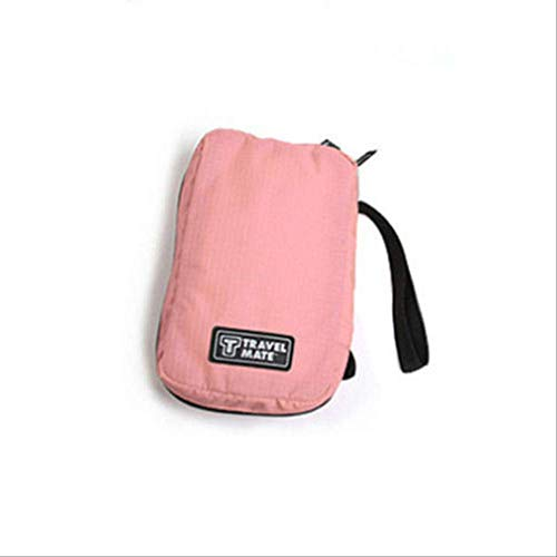 Paket Wbdd Reise Kosmetik Make-up Tasche Toilettentasche Waschen Organizer Lagerung Hängende Beutel rosa -