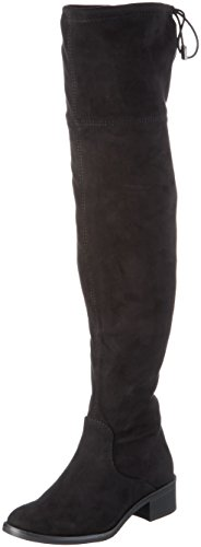 s.Oliver Damen 25507 Langschaft Stiefel, Schwarz (Black 1), 39 EU