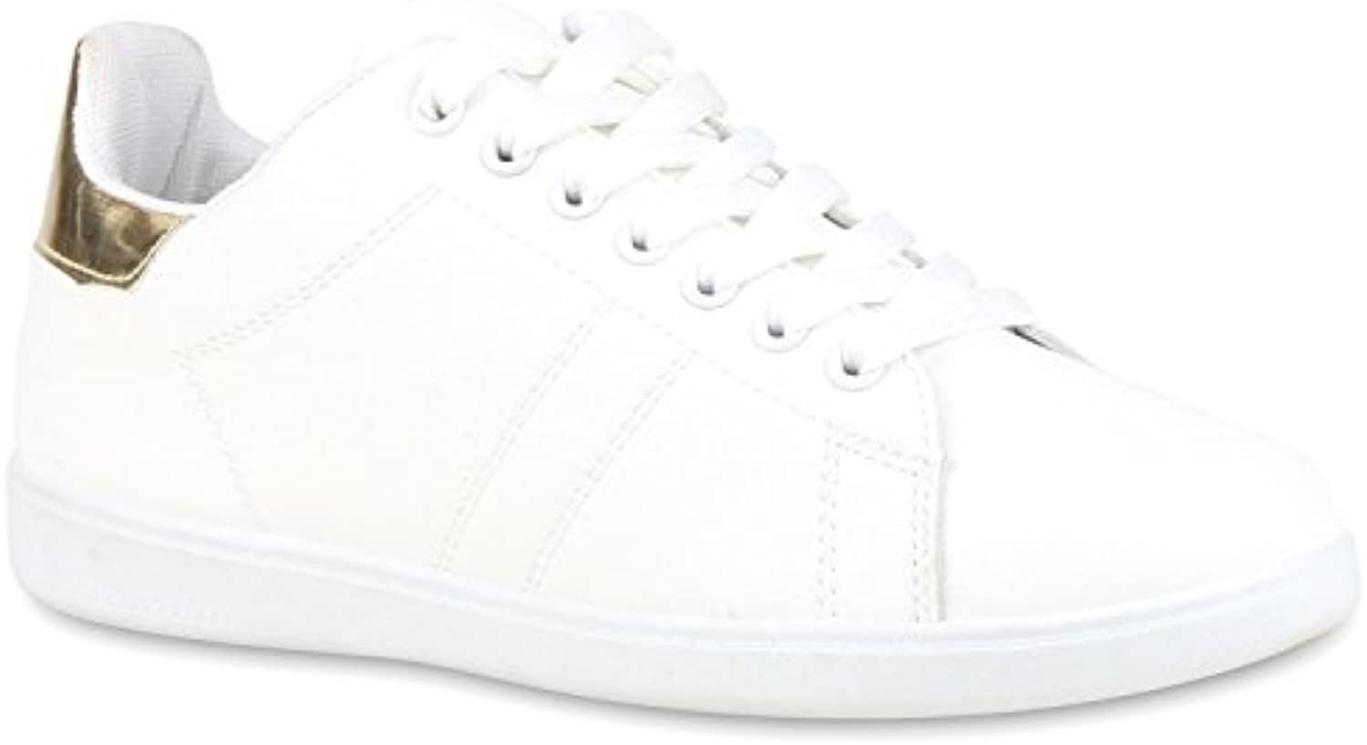 Stiefelparadies Damen Sneaker Low Basic Flandell