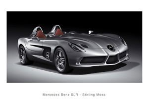 Mercedes-Benz SLR Portapassaporto Stirling Moss, formato A3