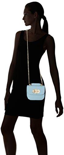 Tommy Hilfiger Turn Lock Mini Crossover, Sac bandoulière Bleu (Ashley Blue)
