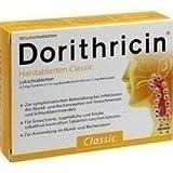 Dorithricin Halstabletten Classic, 40 St. Lutschtabletten