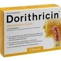 Dorithricin Halstabletten Classic 0,5mg/1,0mg/1,5m 40 stk