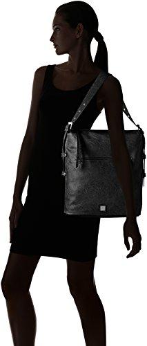 s.Oliver - Hobo Bag, Borsa a tracolla Donna nero (nero)