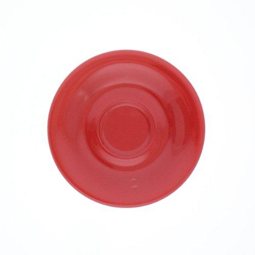 Kahla - Porcelaine pour les Sens 203501A60005C Pronto Colore Sous-Tasse à Expresso Rouge 12 cm