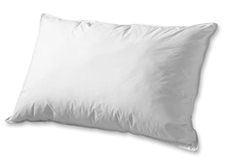 Dacron Memorelle Bed Pillow - Overfilled Down Alternative Hypoallergenic Fill - For Side & Back Sleepers, King,