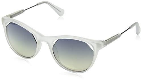 Calvin Klein Damen Jeans Ckj510S 0 Sonnenbrille, Weiß, 52