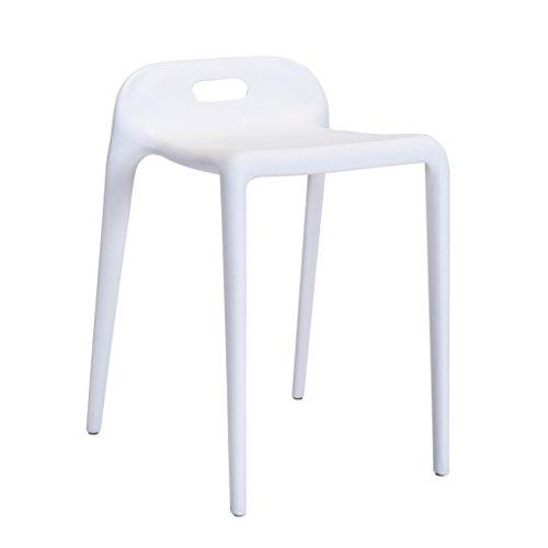 HJHY® Chaise, mode moderne à manger chaise simple en plastique chaise de réception Restaurant reste chaise Sale, résistant à l'usure (Couleur : #6)
