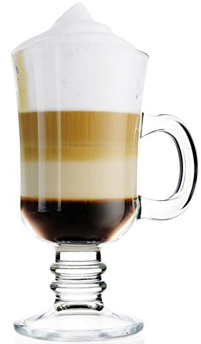 Topkapi 250.868 - Irish Coffee, Punsch, Glühwein, Heiße Schokolade Becher mit Henkel, Modell 44868~235 ml, 6 Stück, II. Wahl
