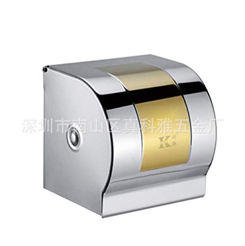 cewin9999 wasserdichte Papierhandtuch Box Box Edelstahl Papierhandtuch Box Box Badezimmer Spezial Dichtrahmen wasserdicht Titan