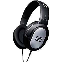 (CERTIFIED REFURBISHED) Sennheiser HD 180 Wired Over-Ear Headphone (Black)
