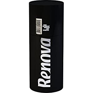 Renova Luxury Scented & Coloured Toilet Tissue Paper 3-Roll Tube (Black)
