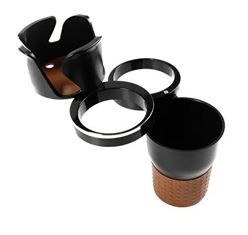 All Ride Autozubehör Mehrzweckbecher Auto-Multi Cup Case, 5 Funktionen, Becherhalter, Brillen-, Stift und Handyhalter je 360° Rotation, Kleinteilefach, Größe ca. 19 x 6,7 cm