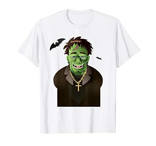 Halloween Frankenstein Monster Geschenk Kostüm Kinder T-Shirt