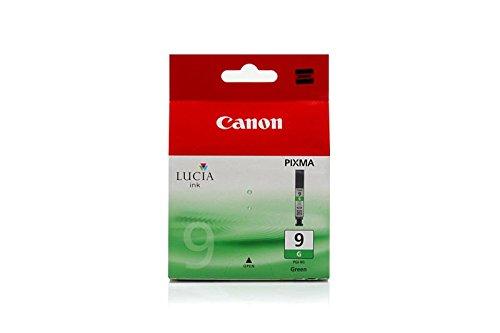Original Canon 1041B001 / PGI-9G Tinte (Grün, ca. 1.600 Seiten, Inhalt 14 ml) für Pixma Pro 9500 (Pixma Pro Canon Tinte 9500)