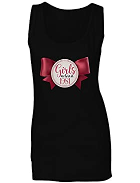 Las niñas nacen en 1981 la novedad del arco lindo camiseta sin mangas mujer ll22ft