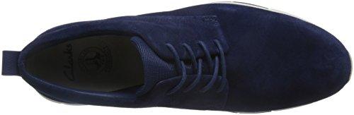 ClarksTynamo Walk - Scarpe da Ginnastica Basse Uomo Blu (Blue Suede)