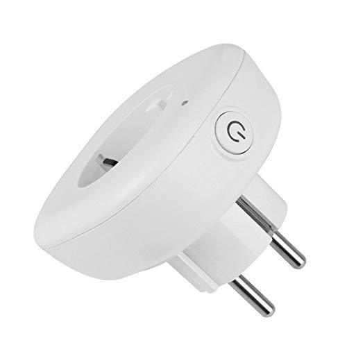 Preisvergleich Produktbild WEIWEITOE-DE Home WiFi Smart Power Wireless Switch Socket EU Plug Outlet Smart Timer Support for Alexa for GoogleHome Plug and Play