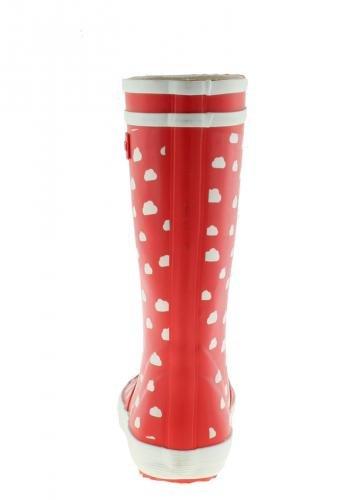 AIGLE LOLLY POP PRINT 2527V enfant (garçon ou fille) Bottes en caoutchouc Rouge