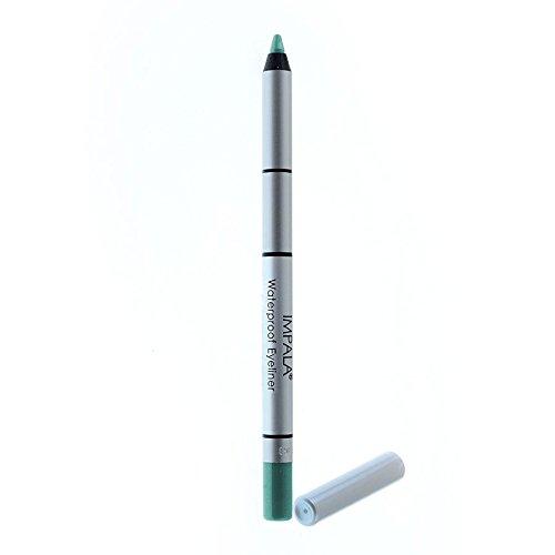 Impala-Pennino di occhi waterproof Cremoso: Verde azulado nº317emicrania