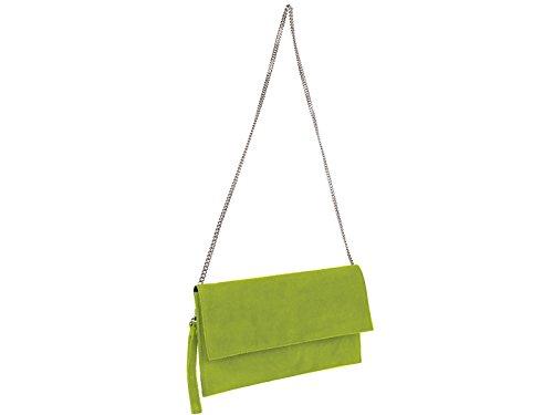Pochette scarlet bijoux - vert clair