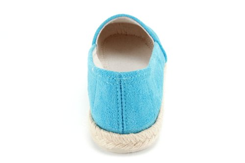 AM598 - Espadrilles in Ante - Made in Spain Blau
